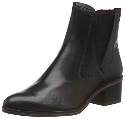Tamaris Damen 1-1-25003-23 Chelsea Boots, Schwarz (Black 1), 37 EU