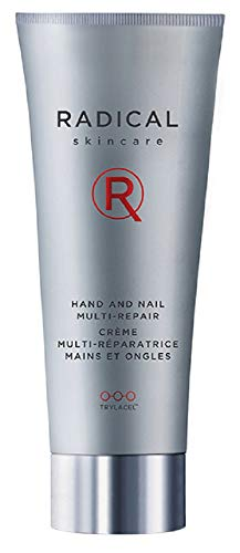 Radical Skincare Hand and Nail Multi-Repair, 2.5 Fl Oz - Provides Extreme Moisture and Fights Aging | Strengthens Nails and Cuticles | For All Skin Types Including Sensitive Skin | Paraben Free | Clinically Proven Results