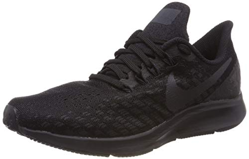 Nike Men's Air Zoom Pegasus 35 Running Shoes, Black (Black/Oil Grey/White 002), 7.5 UK