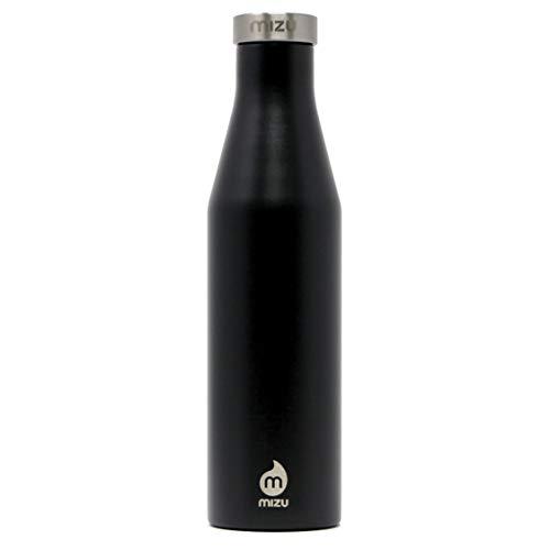 Mizu Life S6 Trinkflasche, Enduro Black, 600ml