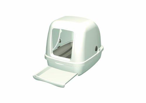 デオトイレ1週間消臭・抗菌デオトイレフード付き本体セット(アイボリー)