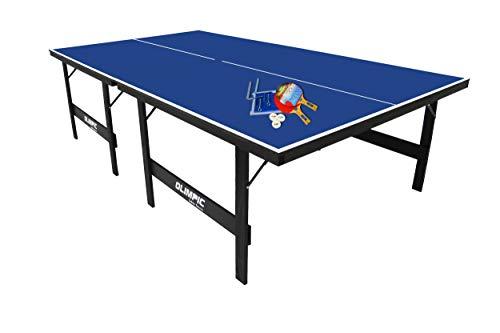 Mesa De Tênis De Mesa, Ping Pong, Com Kit Completo, Olimpic, MDP 15mm, Klopf, Cód. 1005