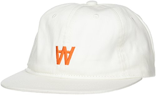 Wood Wood Herren Baseball Cap, Elfenbein (Off-White), One Size