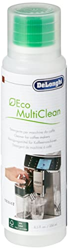 De\'Longhi Original Eco MultiClean DLSC550 Reinigungsmittel für Kaffeevollautomaten zur Reinigung des Milch-Systems, wirksam auch für Außenflächen und alle abnehmbaren Teile der Kaffeemaschine, 250ml