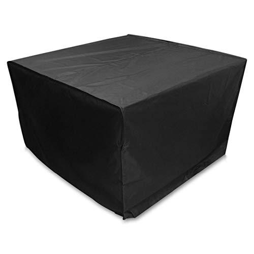 AWSAD Cubierta a Prueba de Polvo de Muebles, Tapa Protectora de Muebles de jardín al Aire Libre, Terraza Impermeable Cubierta de Muebles (Color : Negro, Size : 0.8x0.8x1.2m)