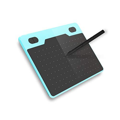 Fikujap 6-Zoll-Grafikzeichnungs-Tablette, 5080LPI Digitale Skizzenpolster, Unterstützung am meisten 2D, 3D, Video, für Kunst Erstellung/Design/Webanwendungen,C