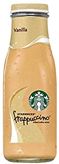 Starbucks Frappuccino, Vanilla, Glass Bottles, 9.5 Fl Oz (15 Count)