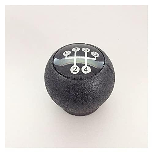 MENGMENG Mengz Store Ajuste para Vauxhall Opel Meriva A 03-10 Palanca de Engranaje Boot y Handbrake Grips Coche Anti Deslizamiento Aparcamiento Hand Hand Freno Boot Boot and Gear Shift Knob
