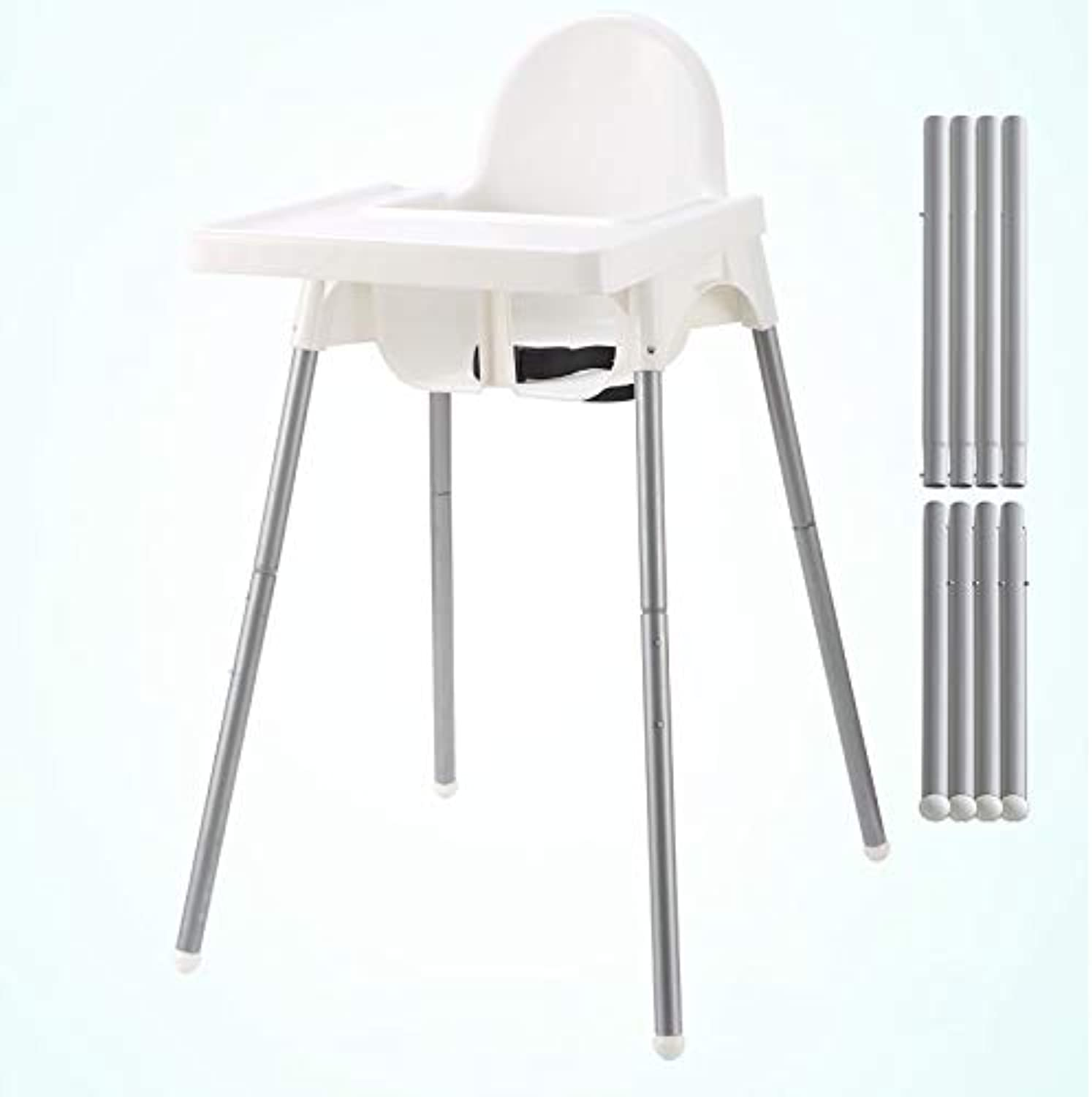 High Chair Adjustable Height Adjustable Portable Easy to Clean Light Quality Suitable for Baby Dining Chair