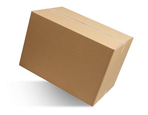 IMBALLAGGI 2000 - Scatoloni 23x20x15 cm - 5 Pezzi - Scatola di Cartone a Onda Singola - Imballaggi per Spedizione e Trasloco