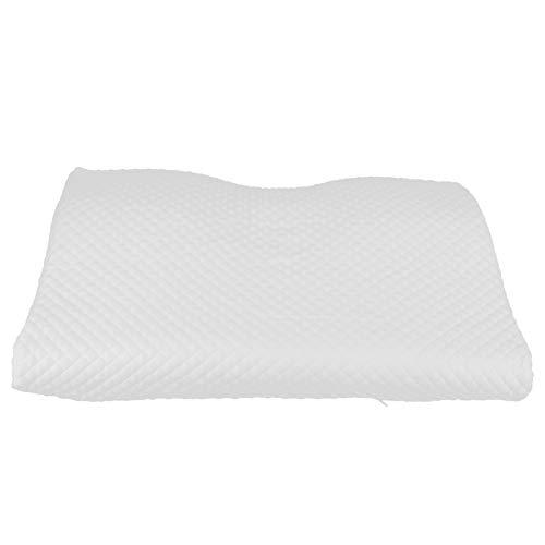 Longzhuo Almohada para Dormir, Almohada de Espuma viscoelástica 4D Almohadas para Dormir cervicales ergonómicas ortopédicas con Funda Pillo(S)