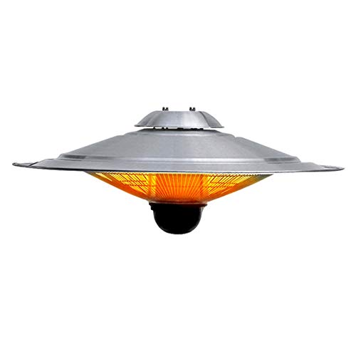 Calentador Eléctrico, 2500W Alentador De Espacio De Patio Exterior, Calentador De Pared Impermeable para Baño, Balcón, Patio, Garaje (Color : Carbon Lamp, Size : B)