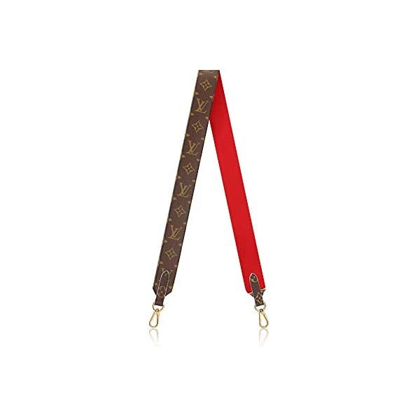 Fashion Shopping Louis Vuitton Handbag Strap Bandouliere Monogram Red J02287