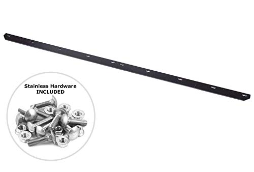 Buy Bargain USA Made Heavy Duty 54 Snow Plow Blade Edge with Mounting Equipment   Wear Bar Cutting ...