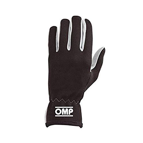 OMP OMPIB/702/N/XL Rally Handschuhe, Schwarz, Größe XL