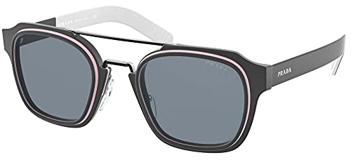 Gafas de sol Prada PR 7 WS 09M01H Negro/Rosa/Negro Mate