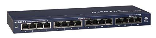 Netgear GS116GE ProSAFE - Switch de red (16 puertos autosensing 10/100/1000 Base-T)