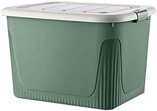 Lpiotyucwh Paniers et Boîtes De Rangement, Boîte de Rangement à Grande capacité avec poulies Vêtements Boîte de Rangement ...