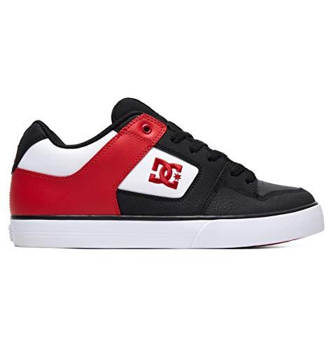 DC DC Schuhe Pure Schwarz/Athletic Rot, Schwarz, 7.5