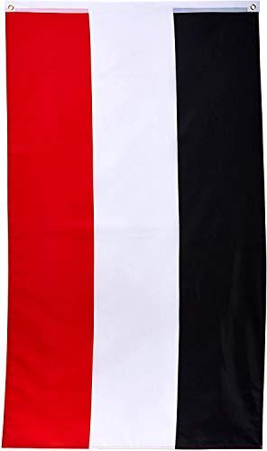 Deutsches Kaiserreich Flagge / Fahne Großformat 250 x 150 cm wetterfest
