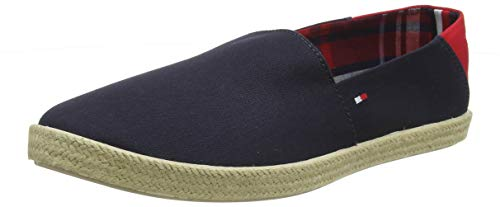 Tommy Hilfiger Herren Easy Summer Slip ON Espadrilles, Blau (Midnight 403), 43 EU