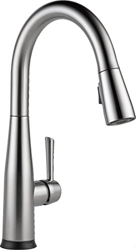 Delta Faucet Essa Single-Handle Touch Kitchen Sink Faucet with Pull Down Sprayer, Touch2O Technology...