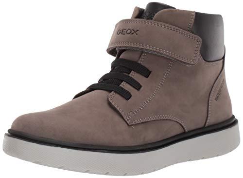Geox Jungen J RIDDOCK BOY WPF A Chukka Boots, Grau (Dk Grey C9002), 37 EU