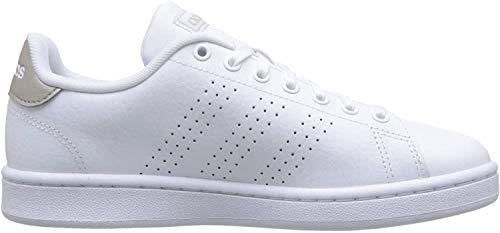 Adidas Advantage, Zapatillas de Deporte para Mujer, Blanca, 41 1/3 EU