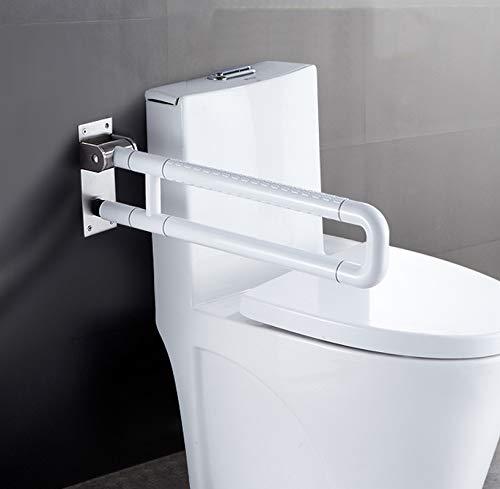Folding Safety Handrails Flip-Up Bathroom Grab Handle Bar