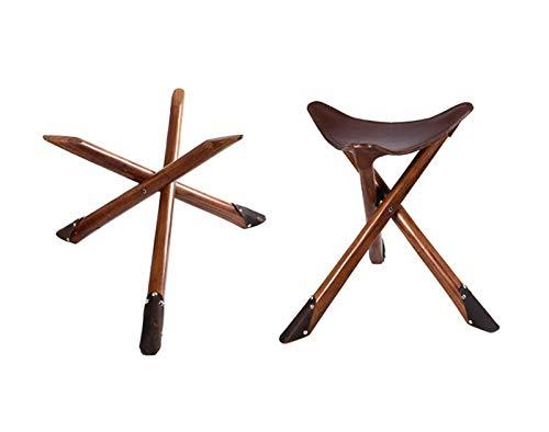YXS Vouwstoel Draagbare Lichtgewicht Zitting, Chinese karakteristieken, Fidelity Koeienhuid Stoel, Zorgvuldig Crafted,Exquisite Handcrafted, Mooi, Duurzaam, Vol stijl.