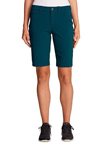 Eddie Bauer Damen Horizon Bermuda-Shorts, Gr. 4 (34), Eisvogel