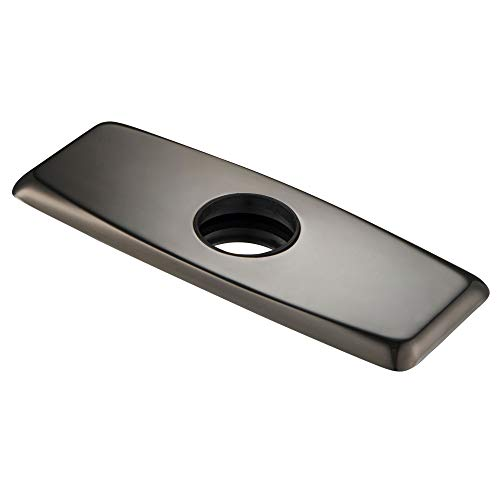 KRAUS Deck Plate for Bathroom Faucet in Oil Rubbed Bronze, BDP01ORB