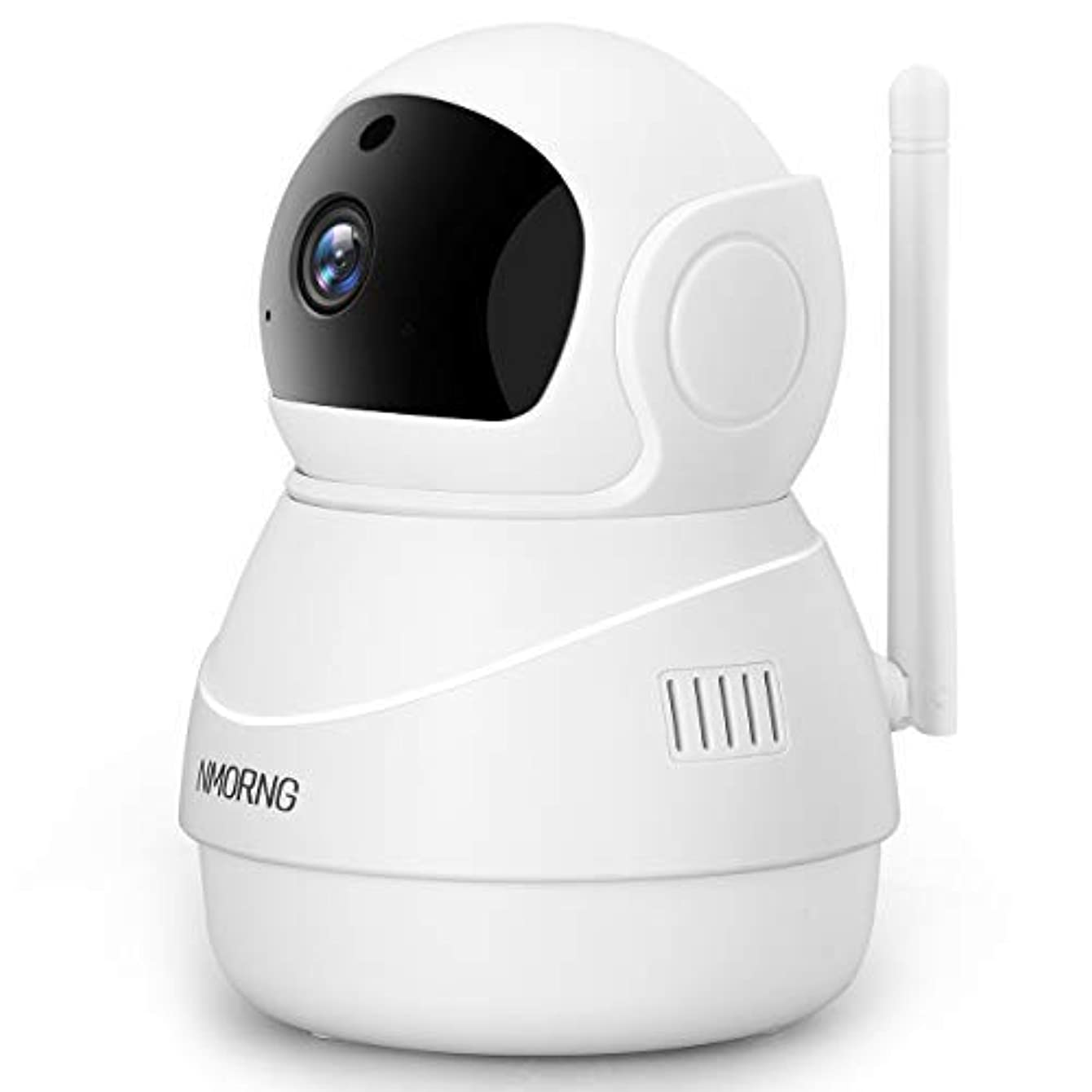 NMORNG 1080P Security WiFi Camera with Night Vision, Two-Way Audio, Motion Detect Wireless Home Surveillance IP Camera, Baby / Pet Monitor, APP Remote Control, Cloud and SD Card Storage