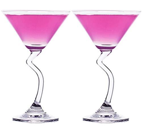 YXXJ 210ml de Margarita Vasos Desechables sin pie y Party Las Tazas Desechables Copas de neón, para el Partido y Mejor Cocina & Decoración Comedor Bar Regalos Beverage