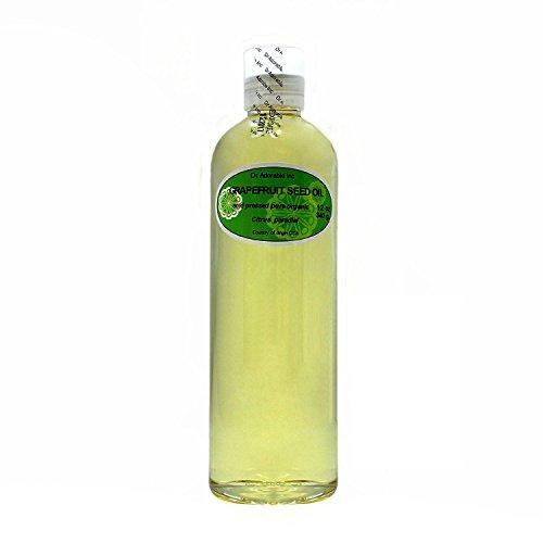 Semillas de Pomelo Aceite Orgánico prensado en frío 100% puro 12oz