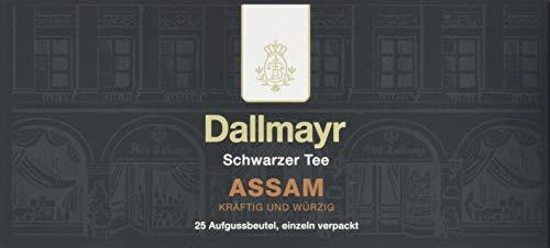 Dallmayr Tee Aufgussbeutel - Assam, 1er Pack (1 x 37,5 g)