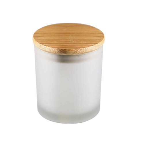 10 Oz Candle Jars with lids for Candle Making - Candle jar with lid - Jars for Candle Making -...
