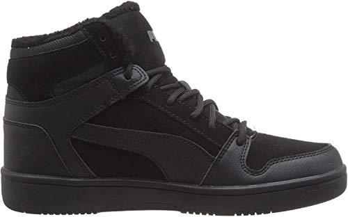 Puma Unisex-Erwachsene Rebound Layup SD Fur Sneaker, Black-Castlerock 01, 43 EU