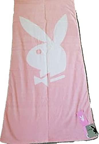 PLAYBOY grande clásico rosa toalla de playa
