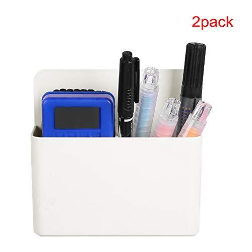 Stiftehalter, magnetisch, Stifteköcher aus Kunststoff, verstellbarer Stiftehalter, Kreidebox, Aufbewahrungsbox für Whiteboard, Stifte und Marker, Schreibwaren