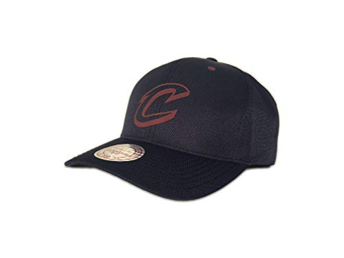 Mitchell & Ness NBA Poly Low Pro - Berretto regolabile Cleveland Cavaliers - Navy Taglia unica