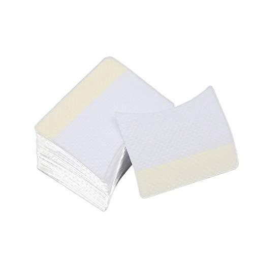 Beaupretty Tampons Démaquillants Extension de Cils Colle Tampons de Nettoyage Chiffon de Nettoyage Outil de Maquillage pour Ongles Cils 120 Pcs