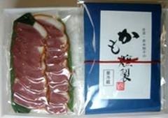 四季のテーブル KS-1 金澤・かも燻製 -クール冷凍-
