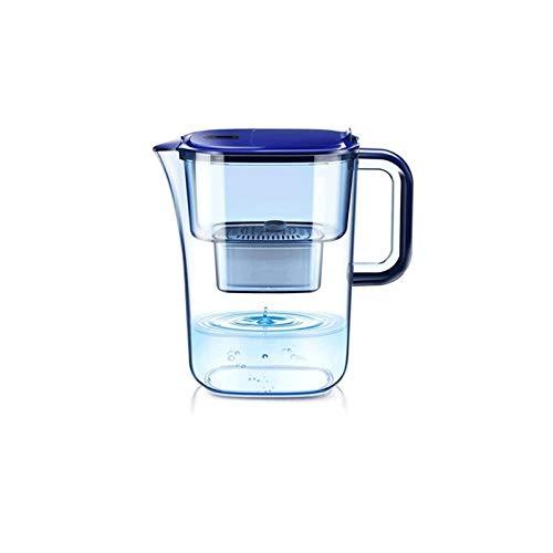 Sdesign Jarra de Filtro de Agua de 3.5L de Larga duración con Filtro de 1 × 90 días - Sistema de filtración de 7 etapas, Elimina el Cable, el fluoruro, el Cloro, etc, BPA Libre, Blanco