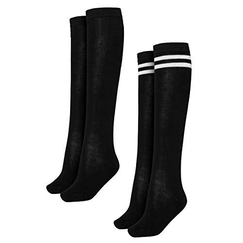Urban Classics Damen Ladies College 2-Pack Socken, Black, 39-42
