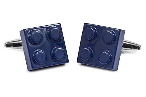 Nosologemelos - Boutons De Manchette Lego Bleu - Bleu - Hommes - Taille Unique