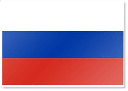 Kühlschrankmagnet, Motiv Flagge von Russland