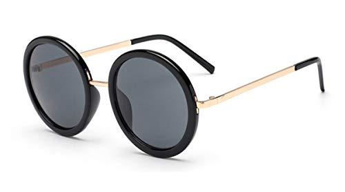Hengtaichang Sunglasses New Retro Round Sunglasses Women Brand Designer Vintage Sun Glasses Women Coating Oculos De Sol Gafas Lunette De Soleil C3