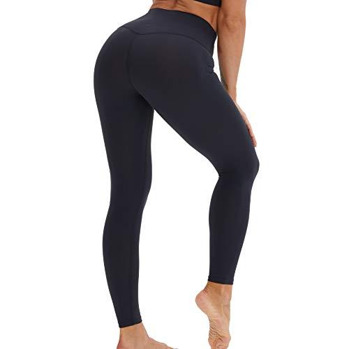 Fashion Boutique Boutique Leggings de cintura alta pantalones de mujer - Pantalones de yoga súper suave Pantalones deportivos Palagos deportivos Medias para mujer Longitud completa Opaque Slim,A,S