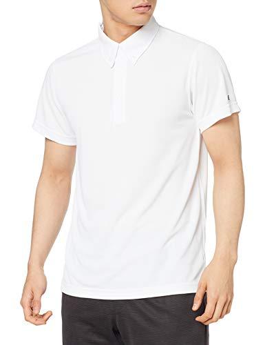 [チャンピオン] ボタンダウンポロシャツ バスケットボール C3-MB397 メンズ ホワイト XS